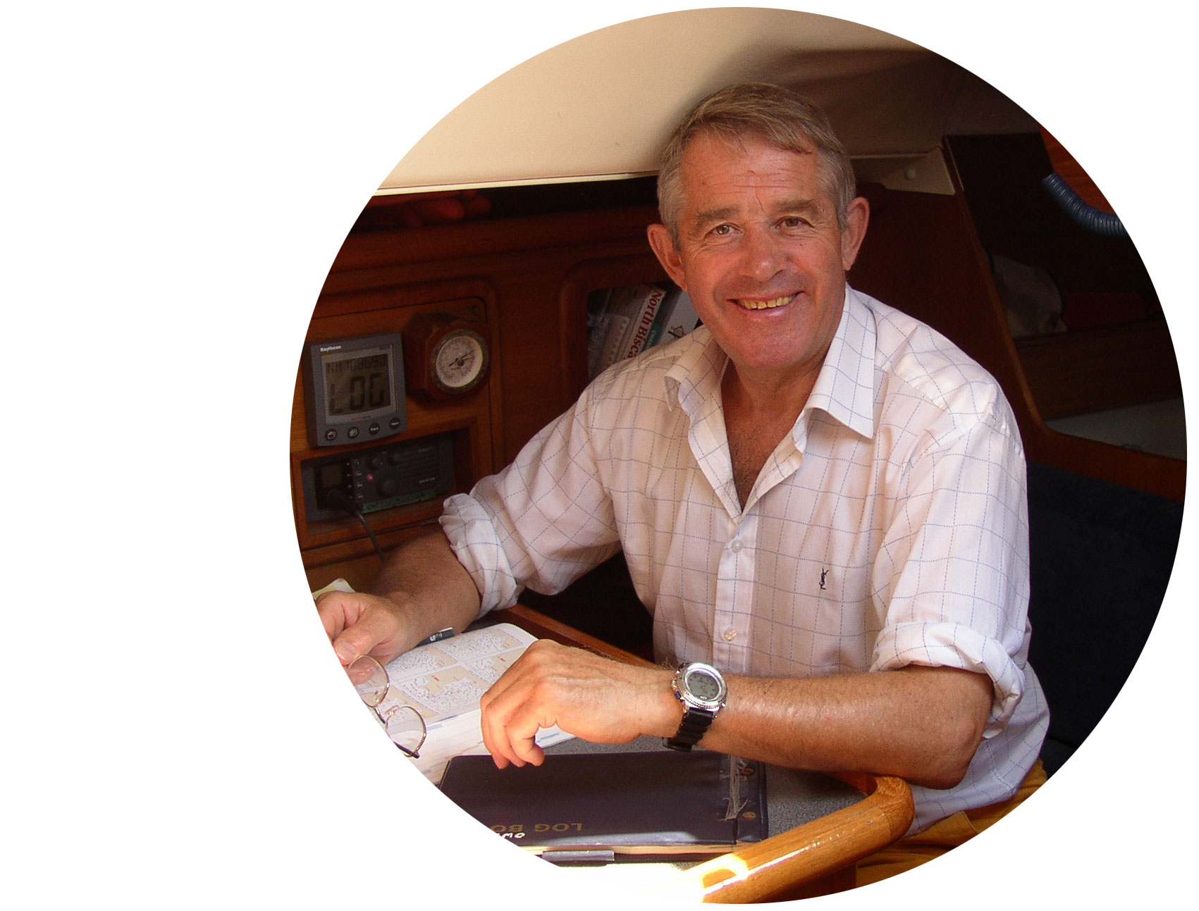 Peter Bruce - Sailor and Author